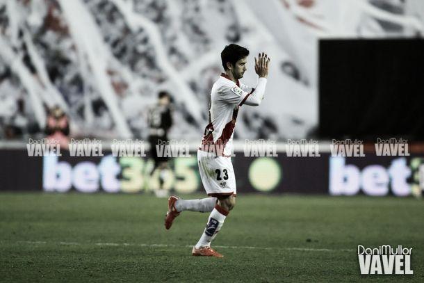 """Alberto Bueno: """"Estoy contento por mis cuatro goles"""""""