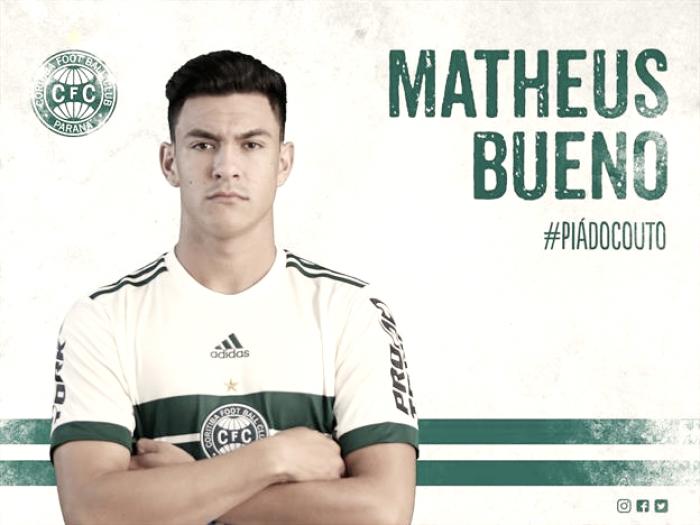 Coritiba renova contrato com Matheus Bueno por mais três temporadas