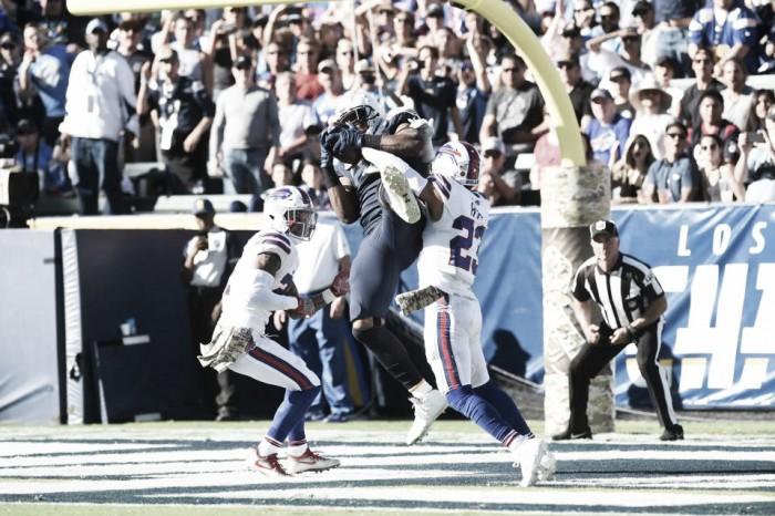 Chargers no tuvieron piedad de Los Bills