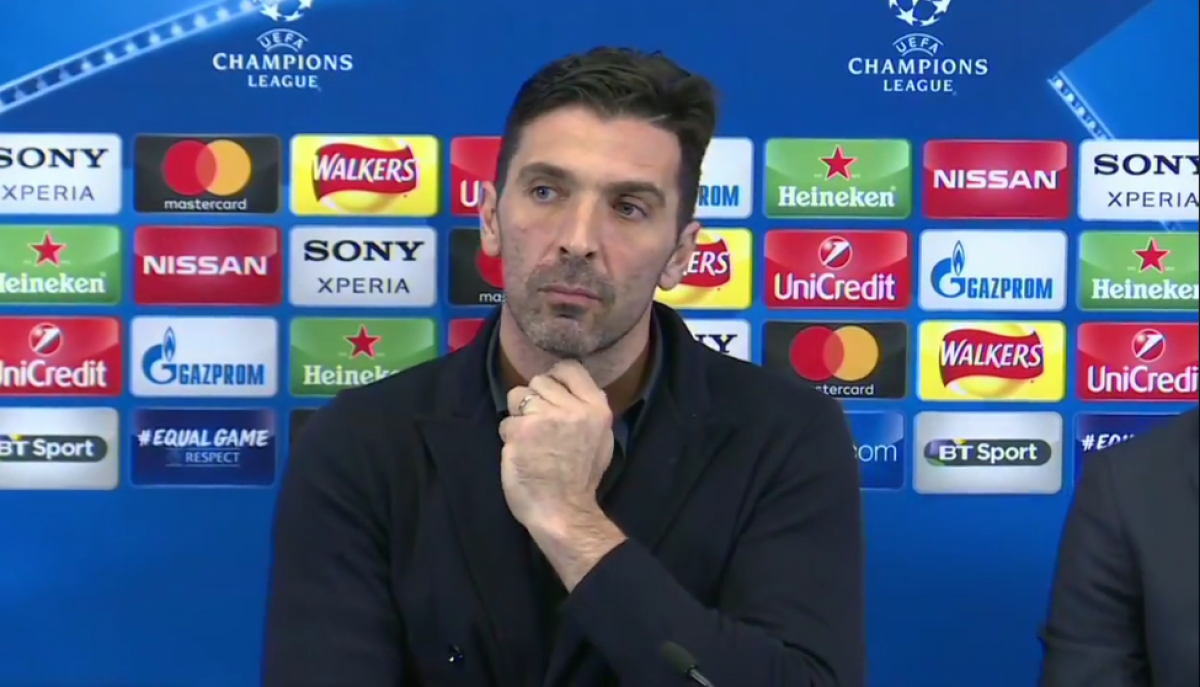 "Champions League, Buffon: ""Si qualificherà la squadra più cinica"""
