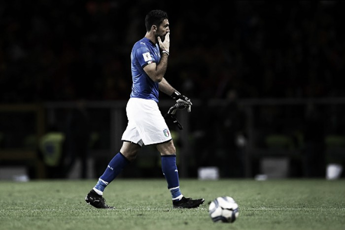 Buffon indica que apatia da Itália se deve à derrota para Espanha no último mês