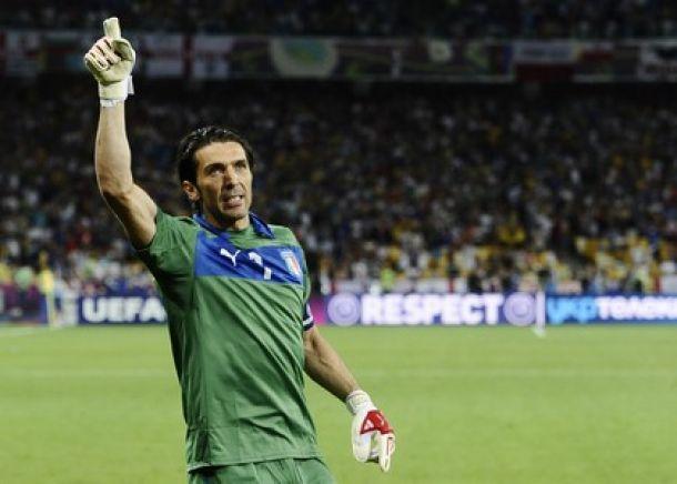 """Buffon fissa l' obiettivo:""""Dai quarti in poi sarà un buon Mondiale"""""""