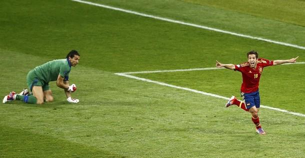 "Buffon: ""Spagna superiore"""