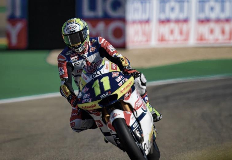 Nicolò Bulega, piloto del Federal Oil Gresini Moto2 / fuente: motogp.com
