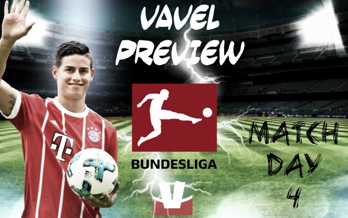 Bundesliga 2017/18, giornata 4 - Il Bayern ospita il Mainz, per il Dortmund c'è il Colonia. Scintille Lipsia