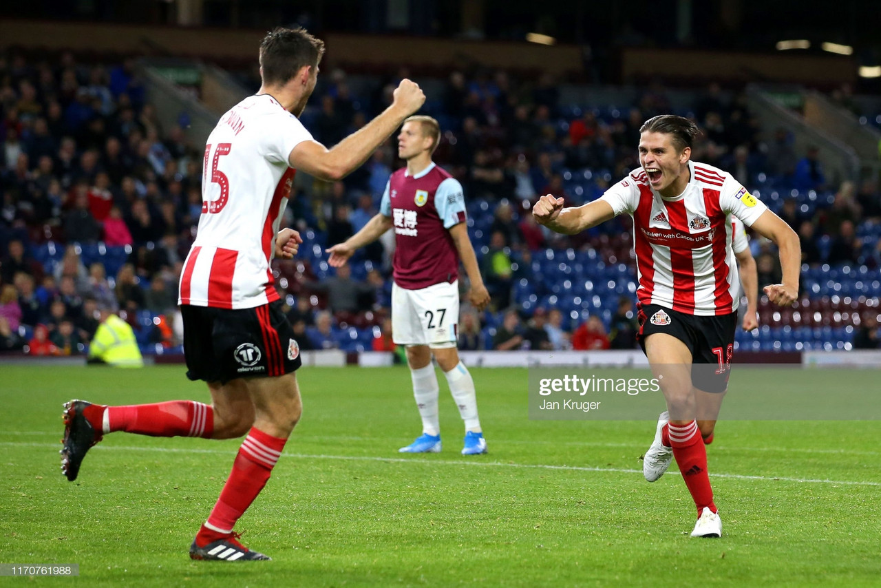 Burnley 1-3 Sunderland: Clartes fall tolatest cup upset