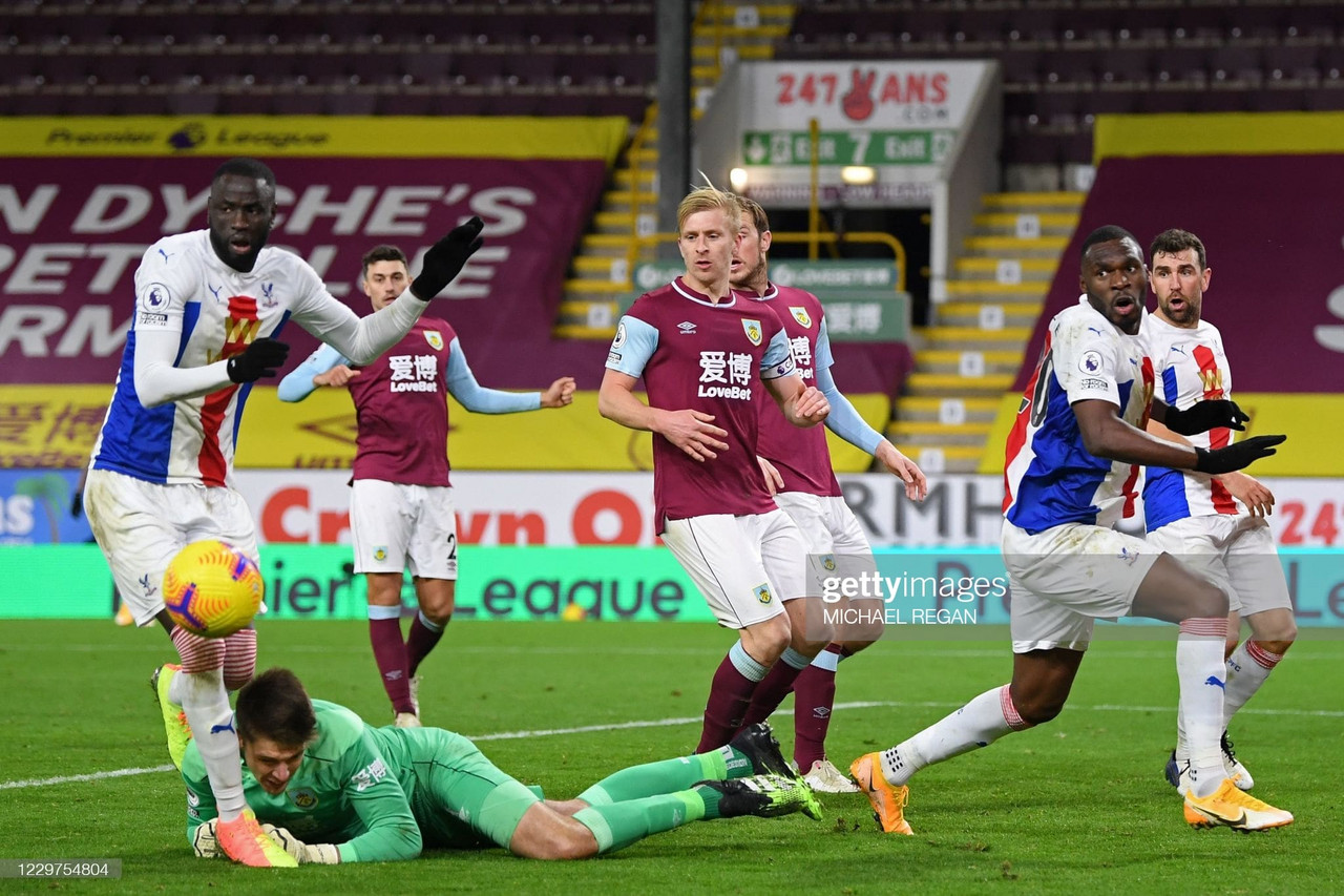 As it happened: Clarets dominate Palace at Selhurst Park