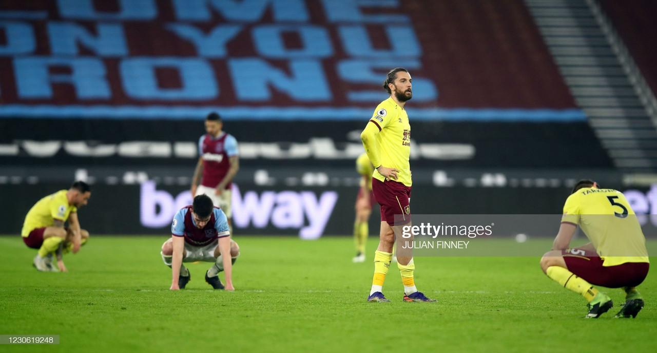 West Ham United 1-0 Burnley: Player Ratings