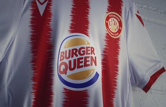Burger King becomes Burger Queen to sponsor Stevenage FCs women's side