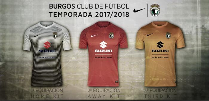 Presentación de las camisetas del Burgos 17/18