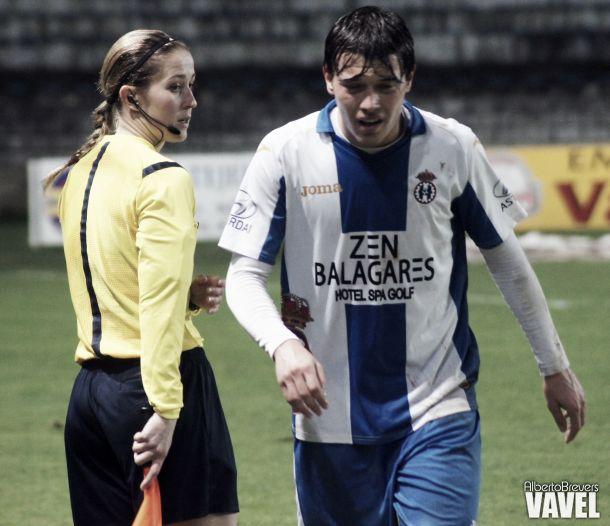 Rubén González Burgueño cae lesionado