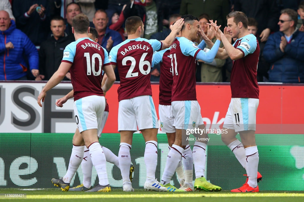Burnley 2-0 Wolves: Clarets make a significant step to safety with an emphatic win on Dyche's 300th match in-charge