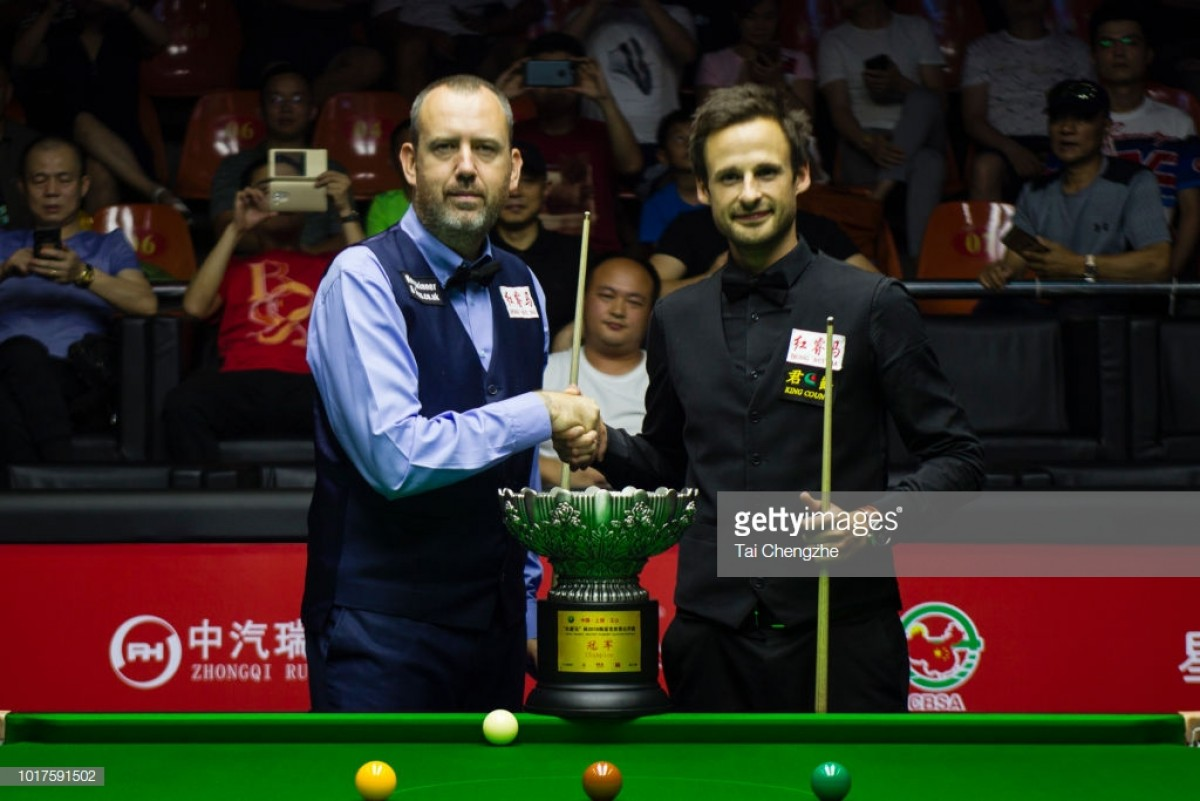 Mark Williams' World Open win proves mental resilience is the difference between 'good' and 'great' in snooker