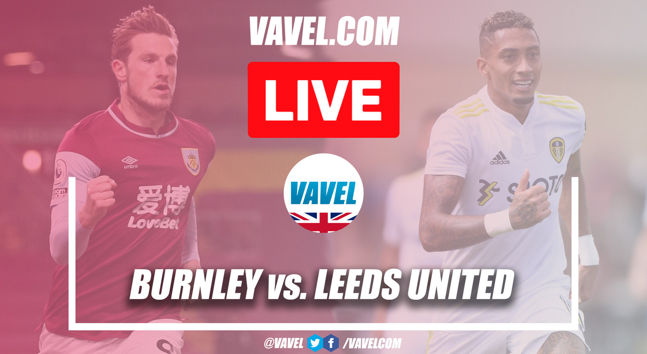 As it happened - Burnley and Leeds United share the points