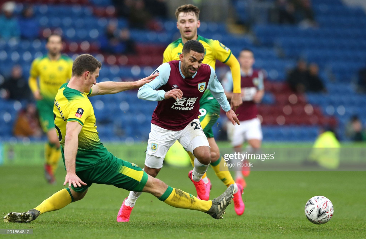 Burnley 1-2 Norwich City: Canaries into fifth round