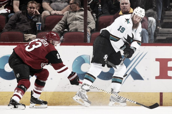 Arizona Coyotes thump San Jose Sharks