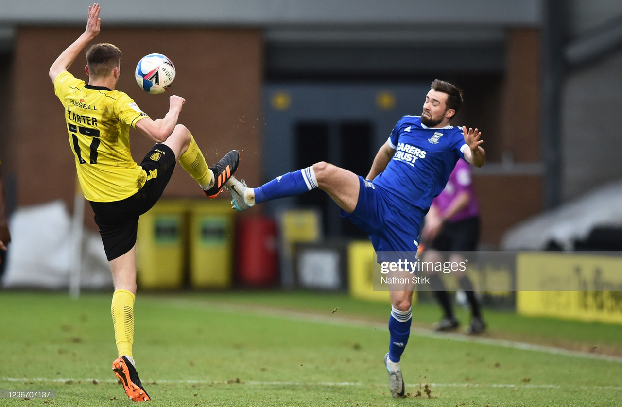 Burton Albion 0-1 Ipswich Town: Tractor Boys do the double over Brewers