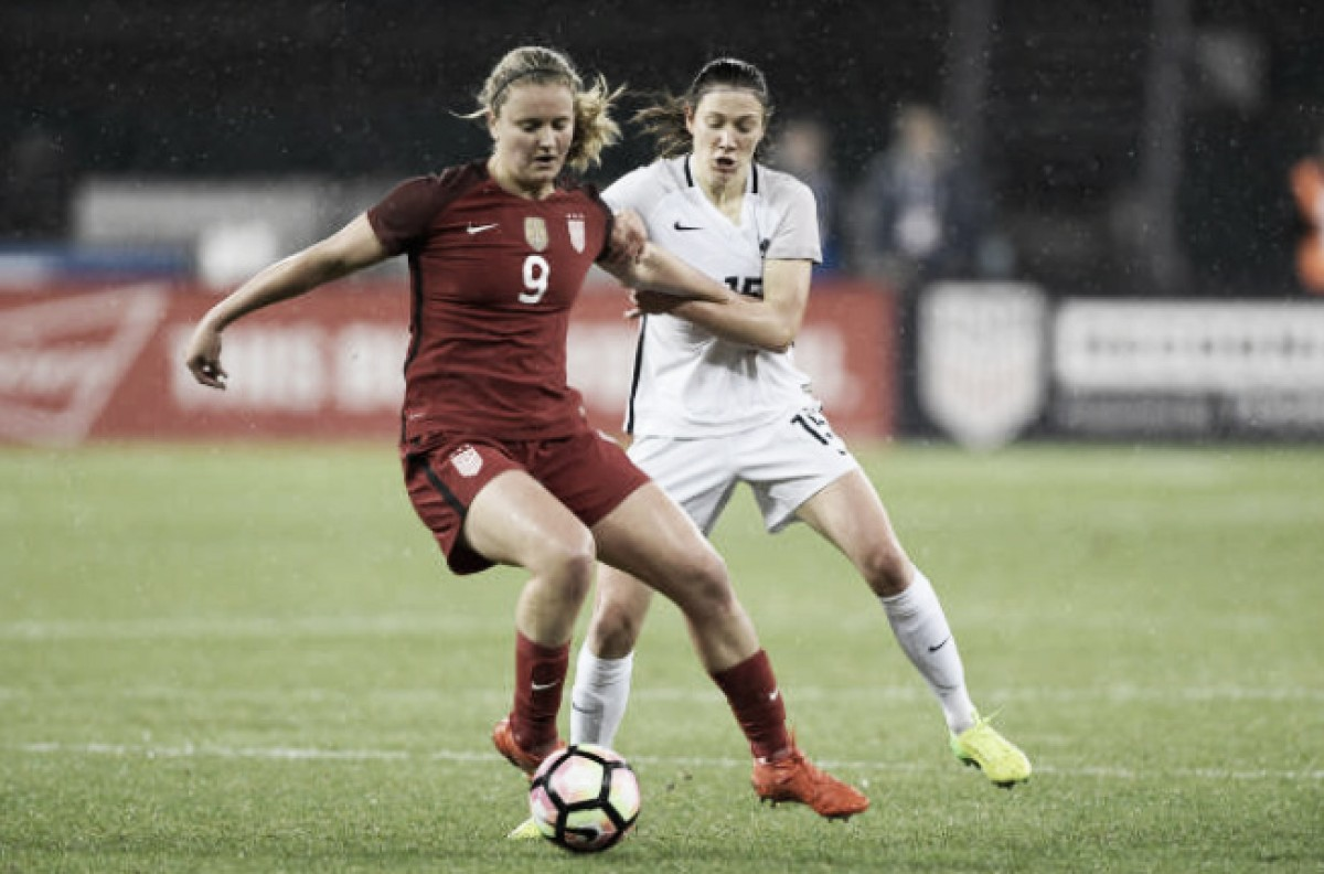 Final Result USA 1, France 1 from the SheBelieves Cup 2018