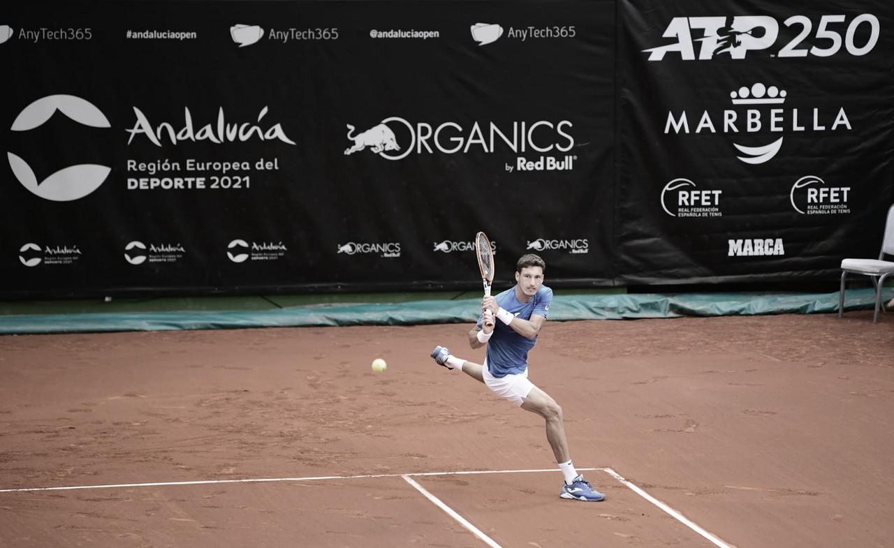 Com 'pneu', Carreño Busta venceKwon no ATP de Marbella