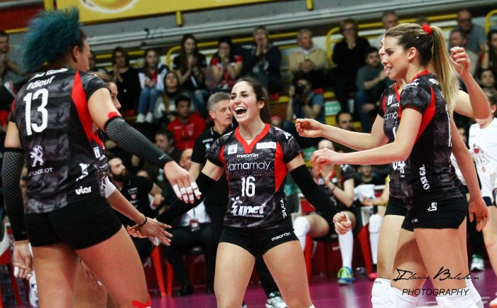 Volley, A1 femminile - Quinta di ritorno: le outsider fanno sudare le big