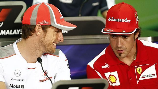 """Button: """"Fernando Alonso sería un compañero de equipo ideal"""""""