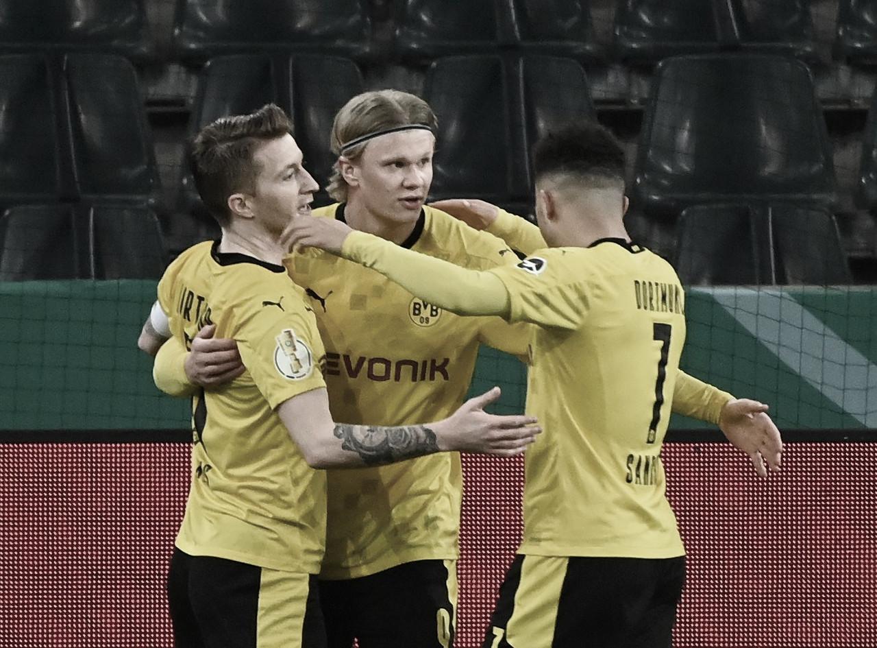 El Borussia Dortmund pasa a semifinales a la contra