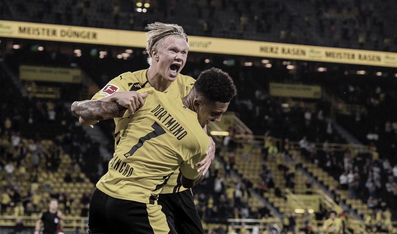 Decisivo, Haaland comanda vitória do Borussia Dortmund na estreia da Bundesliga