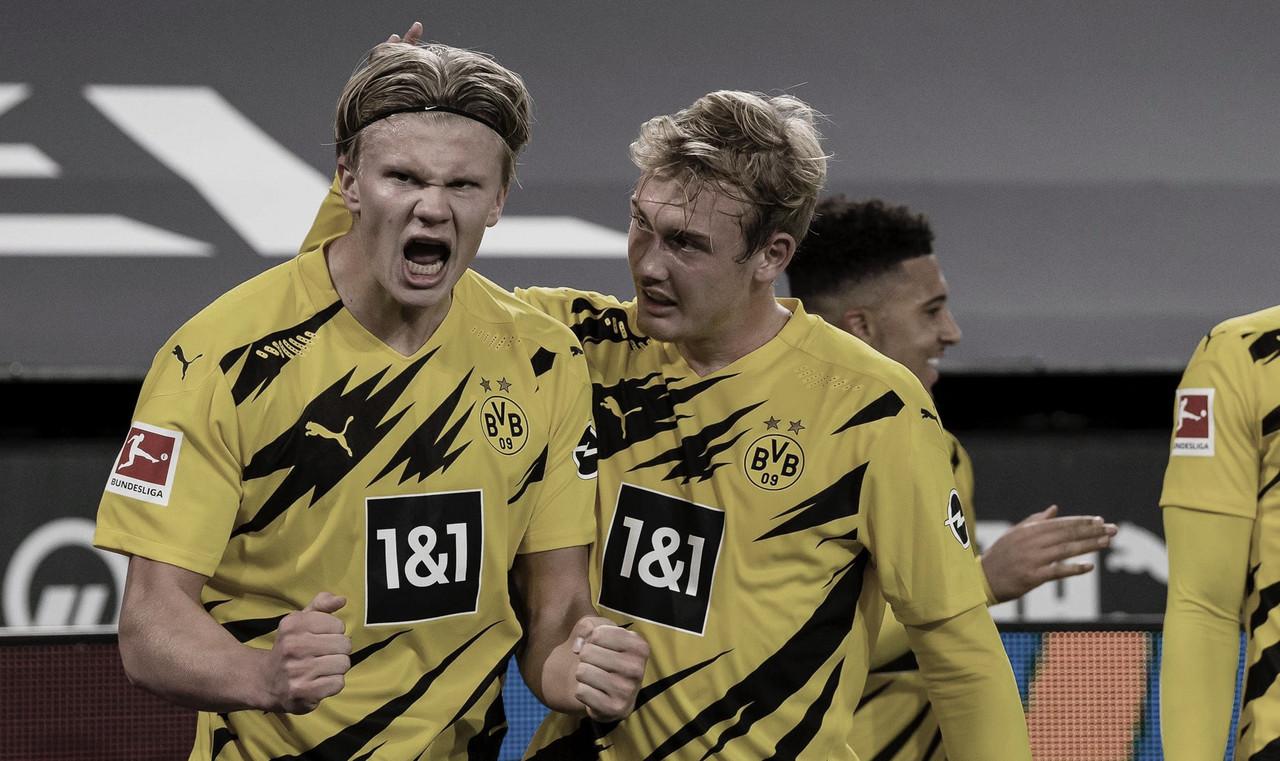 Haaland no falló a su cita con el gol / FOTO: @BVB