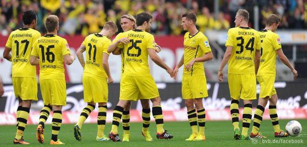 Fin de série pour Dortmund