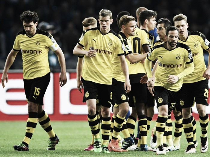 Hertha BSC 0-3 Borussia Dortmund: BVB cruise to DFB Pokal final