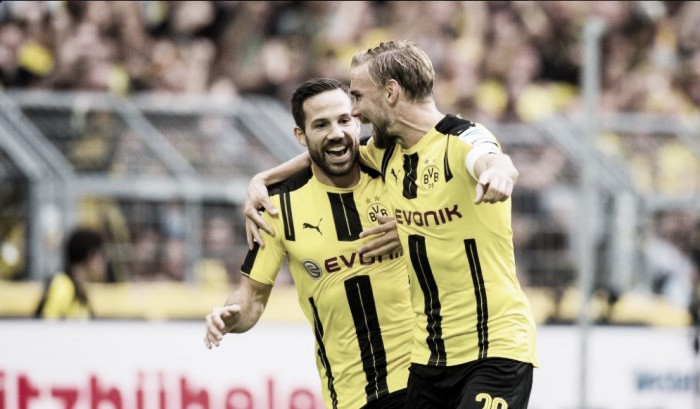 Com grande atuação de Gonzalo Castro, Dortmund atropela Darmstadt pela Bundesliga
