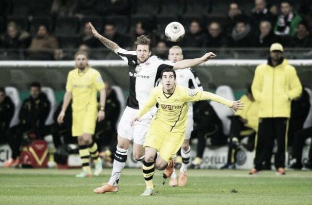 Borussia Dortmund vence Eintracht Frankfurt e avança para a semifinal da DFB-Pokal