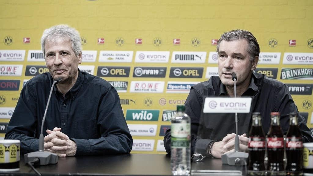 Na véspera de encarar o Bayern, Favre destaca crescimento em relação ao clássico do primeiro turno