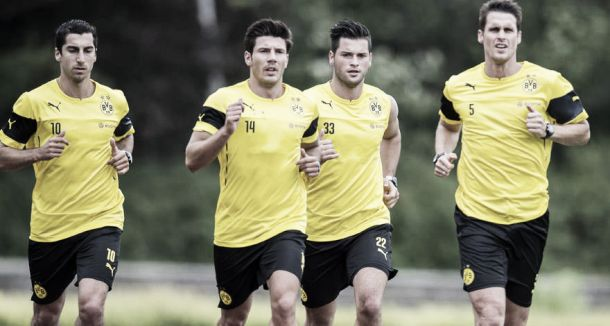 Borussia Dortmund inicia preparação para temporada 2014/15