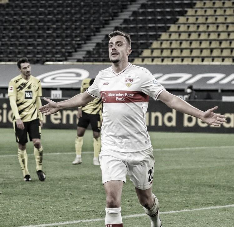 El Stuttgart barre a un Dortmund en estado de alarma (1-5)