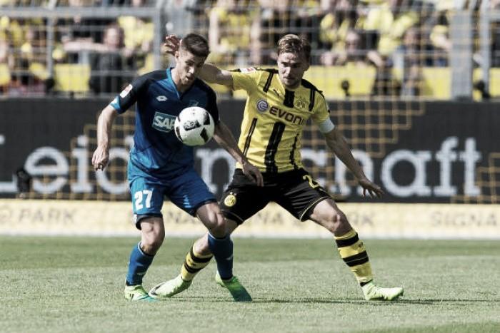 Por recuperação e regularidade na temporada, Borussia Dortmund e Hoffenheim se enfrentam
