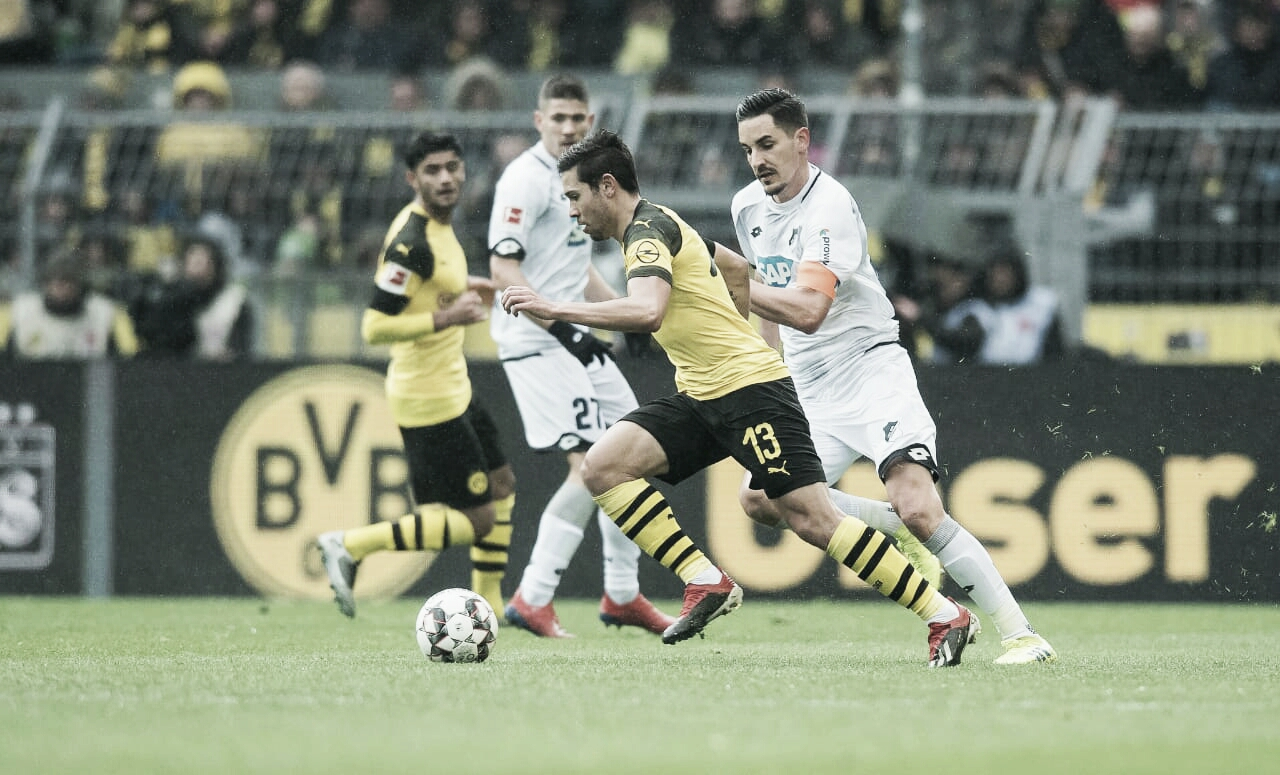 Borussia Dortmund empata com Hoffenheim e vê diferença para o Bayern diminuir