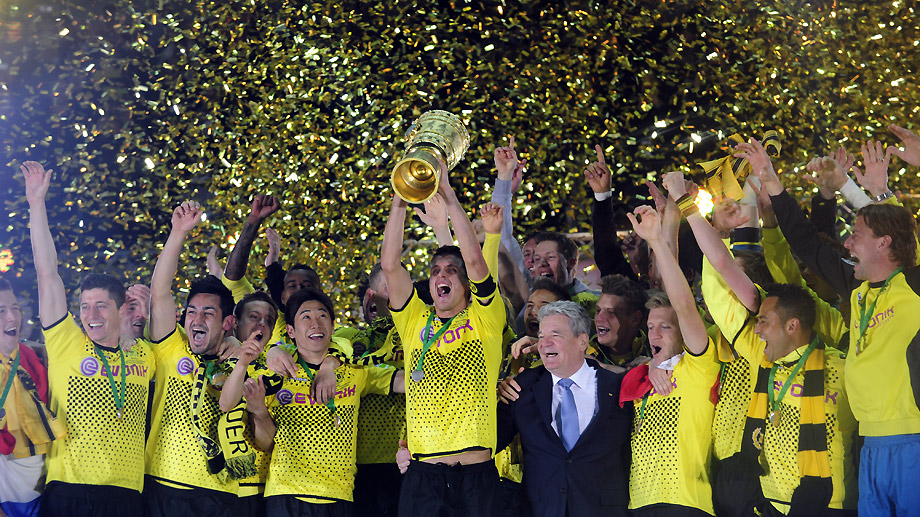 El Dortmund consigue el doblete con una goleada al Bayern