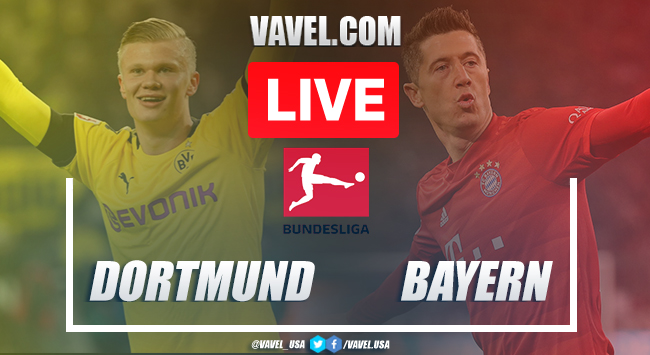 Goals and Highlights: Borussia Dortmund 0-1 Bayern Munich in 2020 Bundesliga