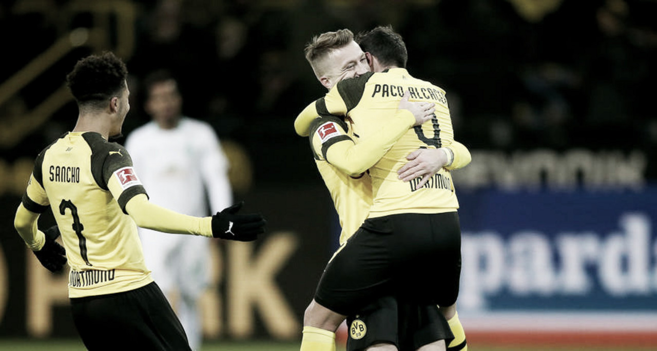 Dortmund bate Bremen e garante título simbólico do primeiro turno da Bundesliga