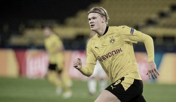 Erling Haaland quebrou mais um recorde (Foto: Rreprodução/Borussia Dortmund)