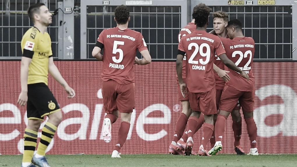 Triunfo bávaro! Bayern de Munique bate Dortmund e abre sete pontos na ponta da Bundesliga