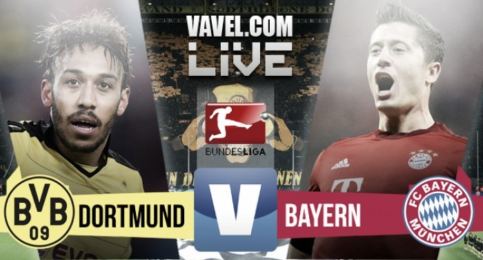 Resultado Borussia Dortmund x Bayern de Munique pela Bundesliga (1-0)