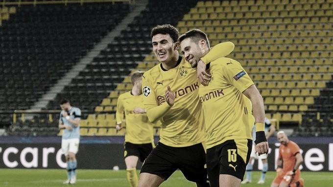 Com gol de Guerreiro, Dortmund empata e se classifica. Foto: reprodução BVB