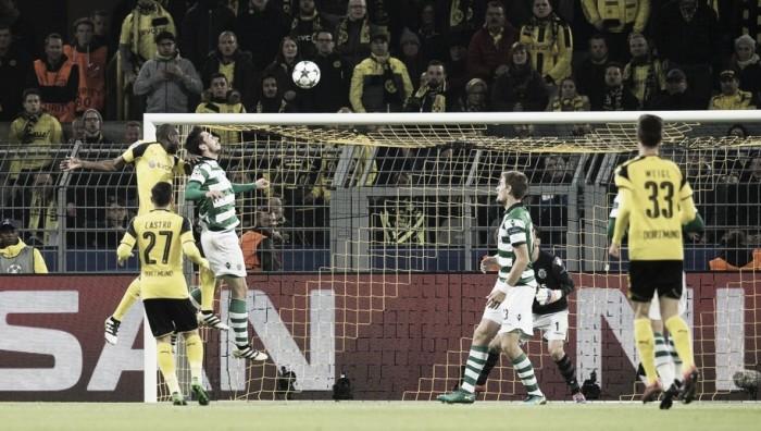 Dortmund bate Sporting, garante classificação e assume liderança do Grupo F