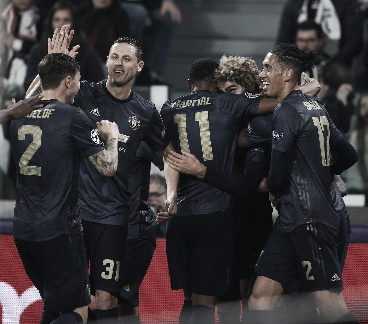 El United sorprendió a la Juventus y dio un gran paso para clasificarse