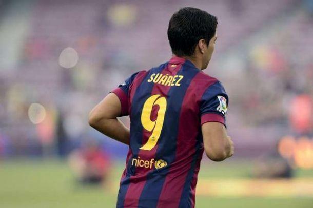 Suárez debutó como culé