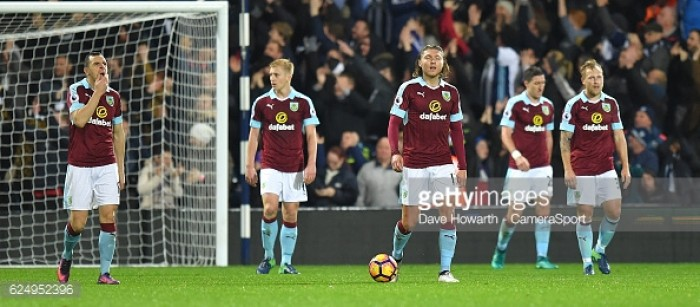 Burnley's player ratings from dismal West Brom hammering