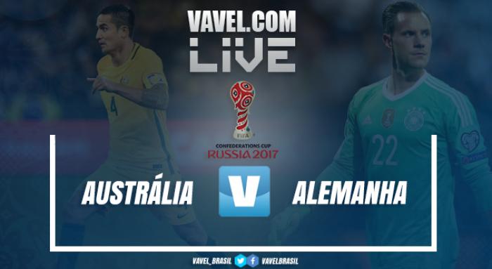 Resultado Austrália x Alemanha na Copa das Confederações (2-3)