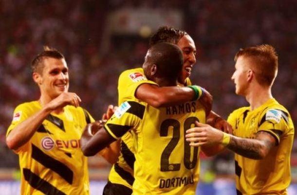Primer gol de Adrián Ramos con Borussia Dortmund en Bundesliga